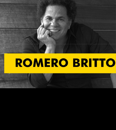 The Brain Project 2019 Welcomes Romero Britto and his One-Of-A-Kind Brain Sculpture!