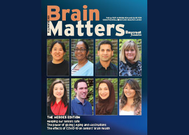 BRAIN MATTERS MAGAZINE Brain<i>Matters</i> - Fall/Winter 2020