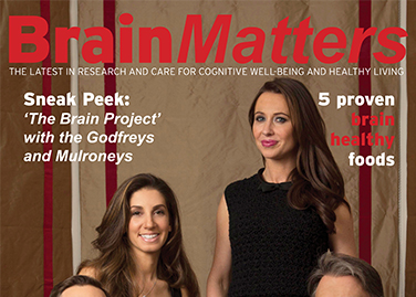 BRAIN MATTERS MAGAZINE Brain<i>Matters</i> – Winter 2015/2016